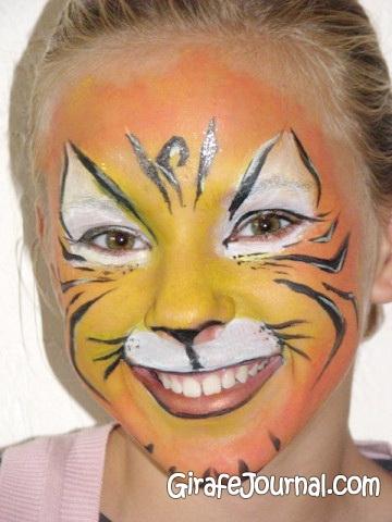 Рисунки на лице для детей (51 фото)