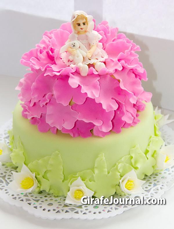 торт-кукла фото