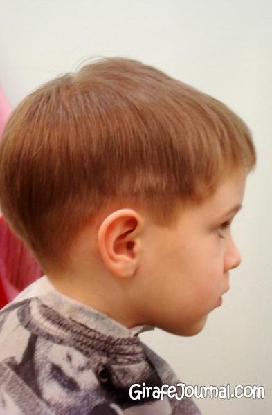 Фото прическа мальчика 2 года
