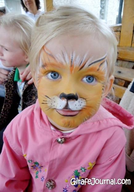 Игры рисунки на лице у девочек
