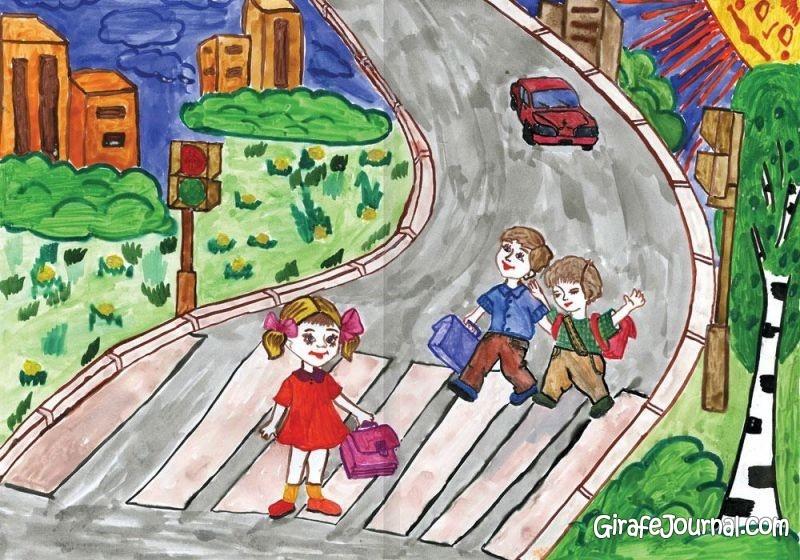 Детские картинки о правилах дорожного движения