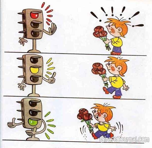 Детские Рисунки О Правилах Дорожного Движения